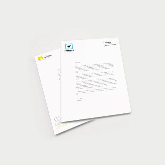 Large Letterhead Printing