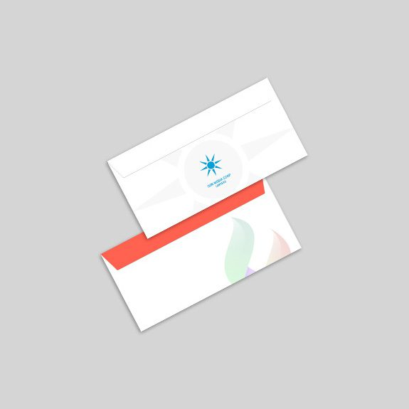 Custom Printed Mailing Envelopes Inside