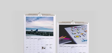 A4 Flat Wall Calendar Printing Melbourne