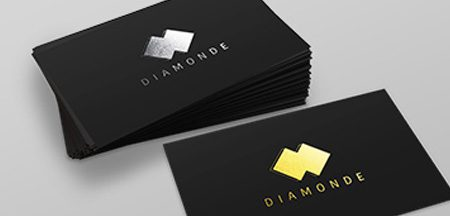 Foiled Cards Business Cards Online