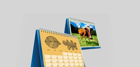 A3 Wirobound Calendar Printing Melbourne