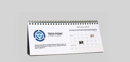 DL Desktop Personalised Calendar
